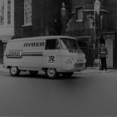 The first ever Ryder truck