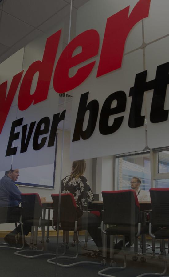 Ryder meeting room at Birmingham office
