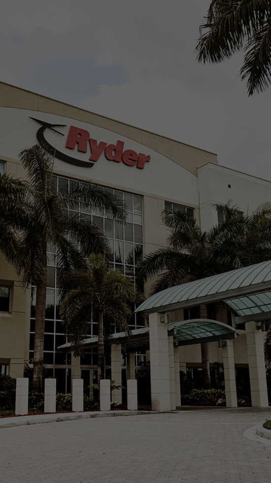 Ryder Miami Headquarters Front Entrance