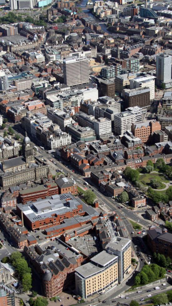 Leeds aerial view