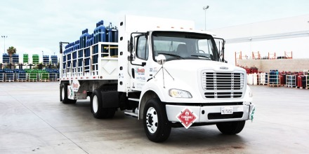 Westair flatbed truck
