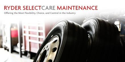 Ryder Selectcare maintenance banner