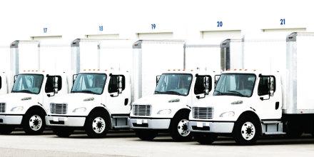 Four Box Trucks