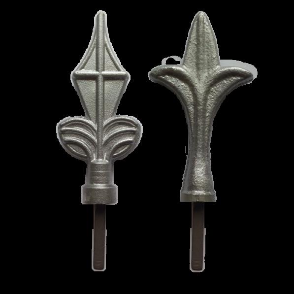 Декоративные наконечники для заборов и заборных секций