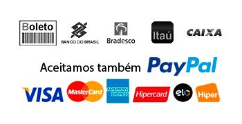 Pague via boleto ou depósito/transferência online