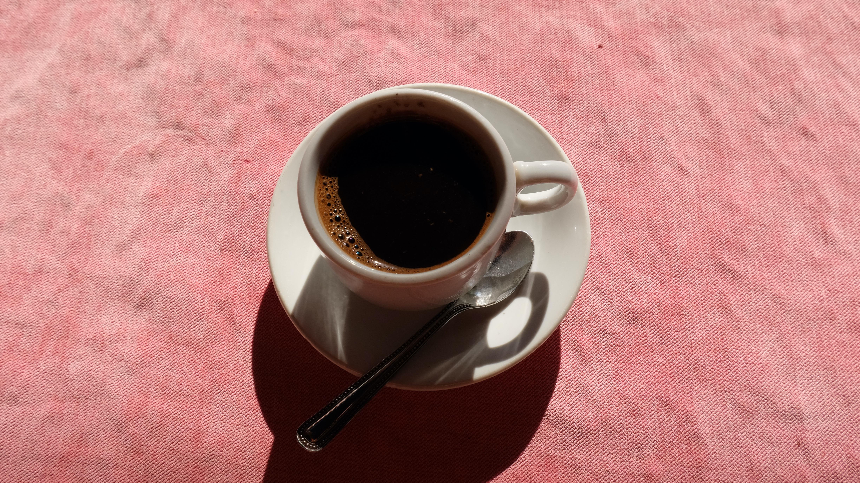 """""""Finjen Aahwet"""" oder auf Deutsch: """"Tasse Kaffee"""""""