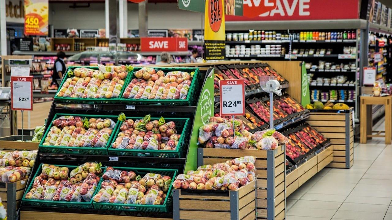 Ein Supermarkt