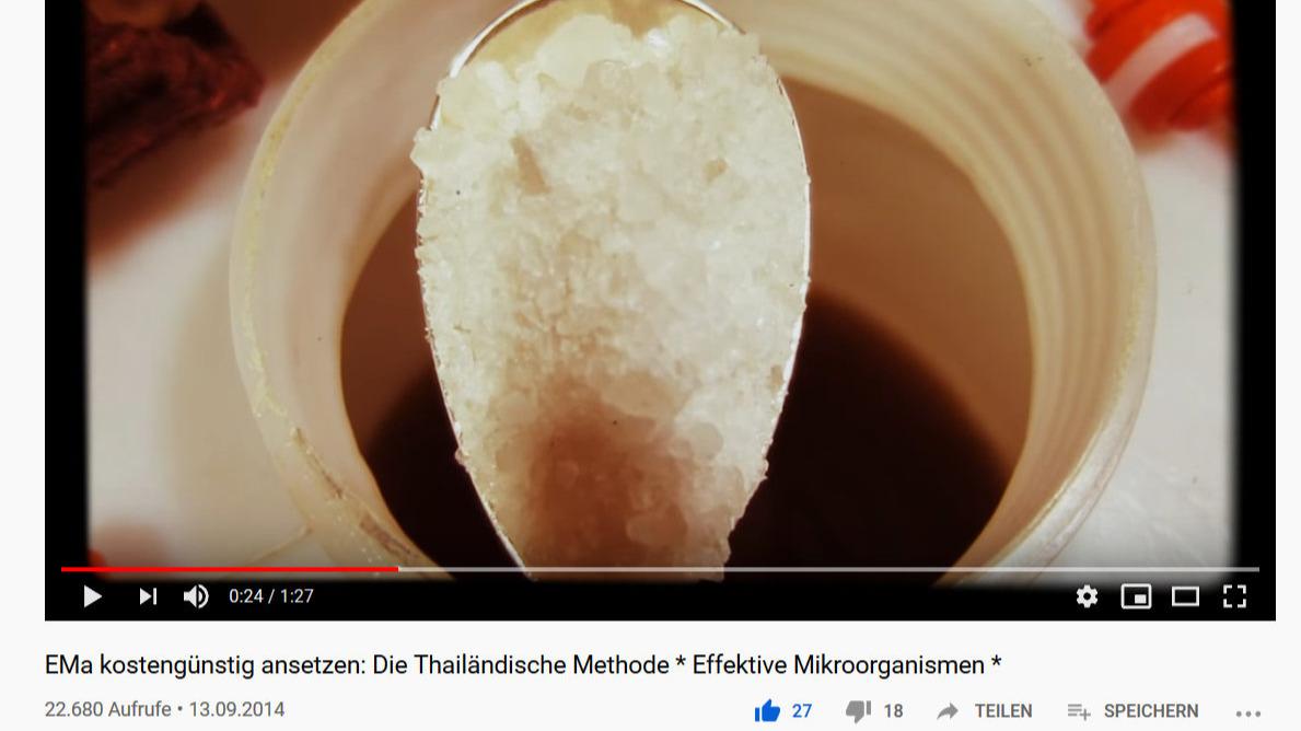 EM ansetzen in meinem Erklärvideo auf YouTube