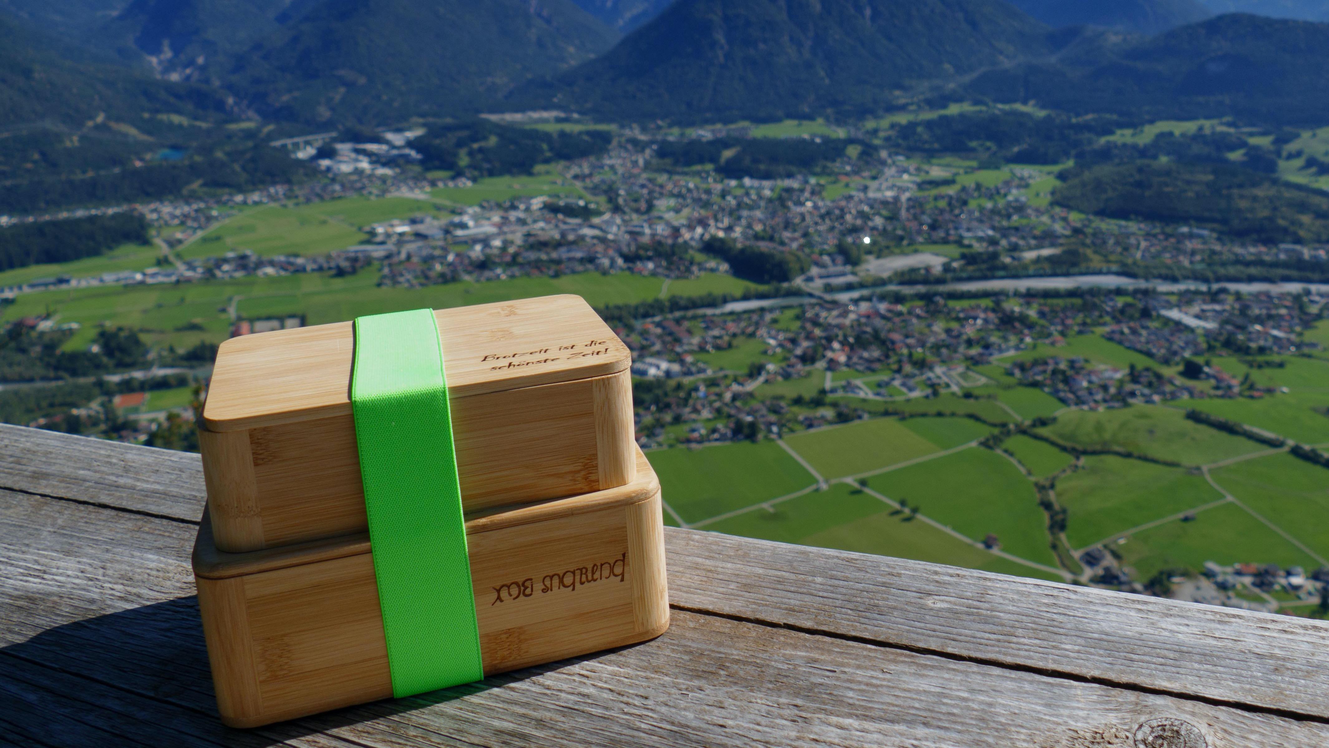 mei marend Brotzeitbox aus Bambus - die nachhaltige Alternative zu Plastik