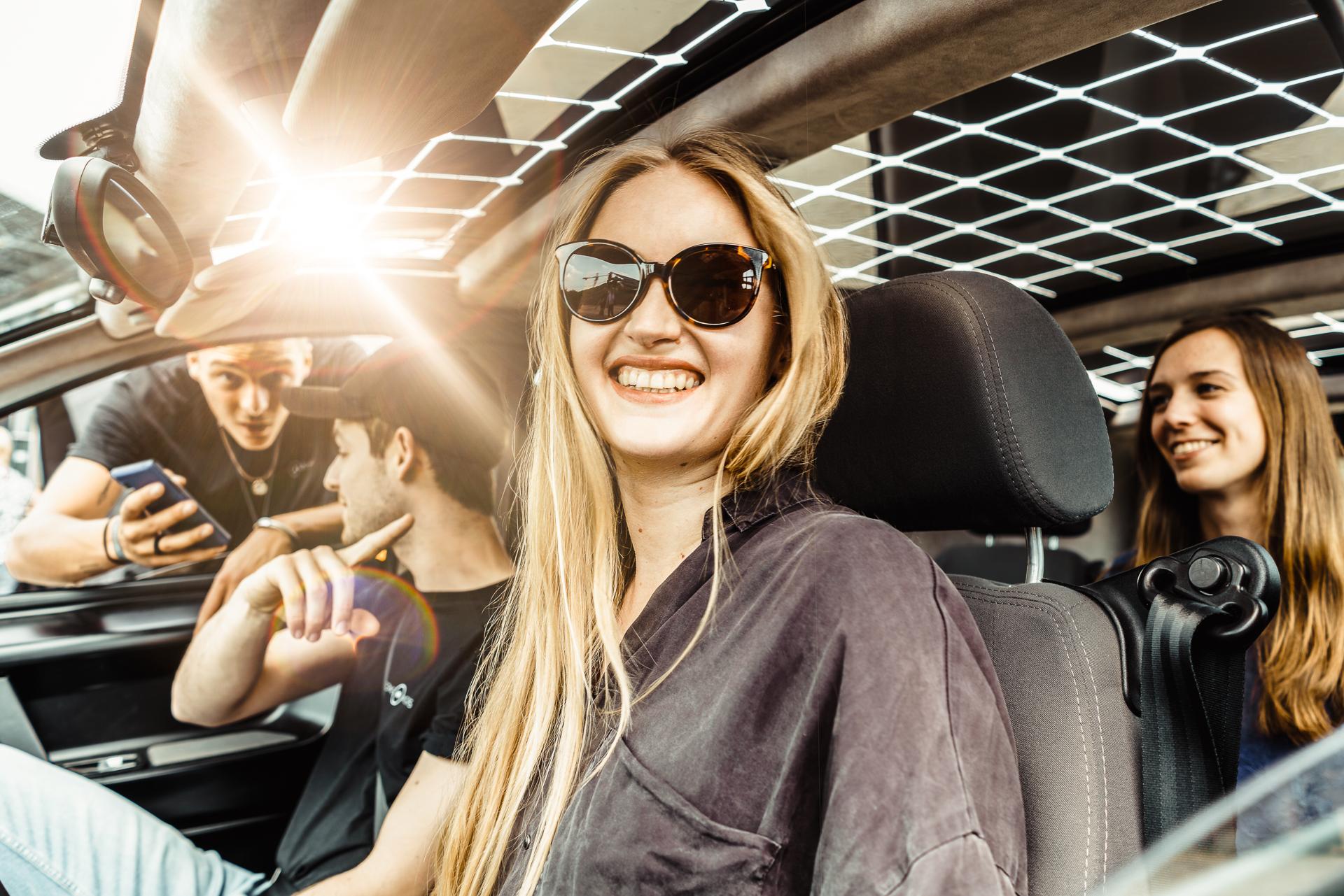 Testfahrt mit dem Sion Solarauto by Sono Motors