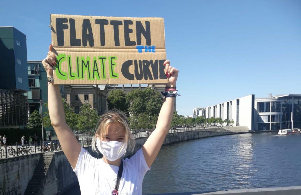 Die Fridays for Future Aktivistin Pauline Daemgen