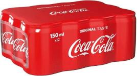 Coca Cola Minicans 12x0,15l