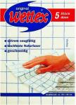 Wettex dünn weiss blau 5er