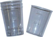 Schnapsbecher glasklar 0,02-0,04