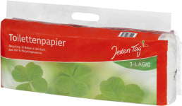 JT Toilettenpapier recycling 10x180 3l