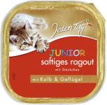 JT Katze saft. Ragout Junior Kalb/Geflüg