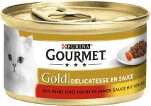 Gourmet Gold Pastete mit Forellen u.Tom.