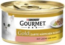 Gourmet Gold Lachs+Huhn Häppchen