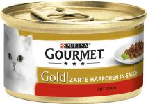 Gourmet Gold zarte Häppchen Rind