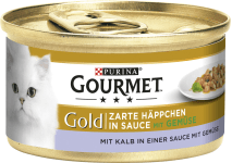 Gourmet Gold Häppchen Kalb und Gemüse
