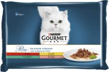 Gourmet Perle 4x85 Huhn,Rind,Lachs