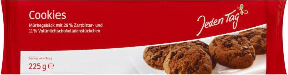 JT American Cookies zuckerreduziert