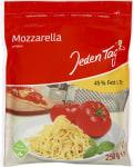 JT Mozzarella gerieben ohne Gentechn.