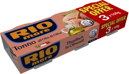 Rio Mare Thunfisch in Olivenöl 3er