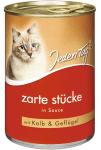 JT Katze zarte Stücke rind/leber