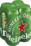 Heineken 4er Pack 0,5 l Dose