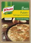 Knorr Basis Puten Rahmgeschnetzeltes