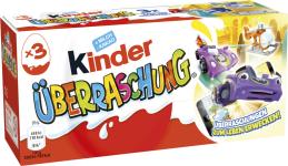 Ferrero Kinder Überraschungseier 3er