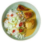 ILIKE Hühnercurry mit Reis