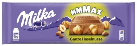 Milka Schokolade Ganznuss