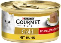 Gourmet Gold Schmelz. Kern Huhn 85g