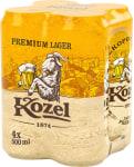 Kozel Premium Dose 4x0,5l Pack