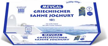 Mevgal Griechischer Sahnejoghurt 10% 2er