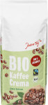 JT Bio Fairtrade Kaffee Crema Bohne