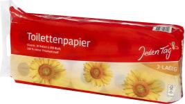 JT Toilettenpapier 10x200 3l