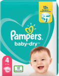 Pamp. Baby Dry Maxi     9-14kg