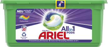 Ariel All-in-1 Pods Color 30MB