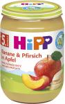 Hipp 4M Banane/Pfirsich in Apfel
