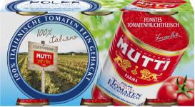 Mutti Polpa gehackte Tomaten Trio