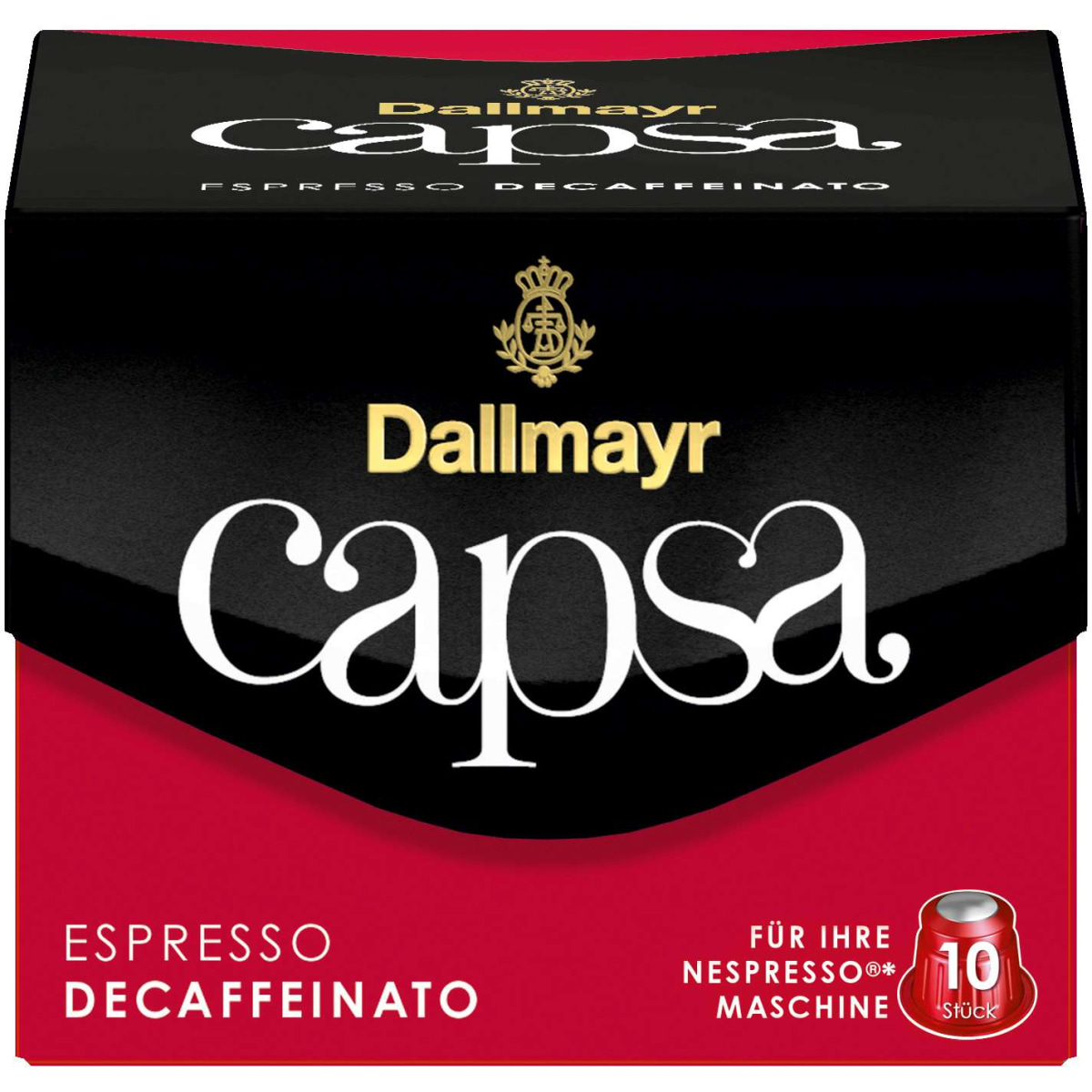 Dallmayr NC Capsa Espresso Decaff. 10er