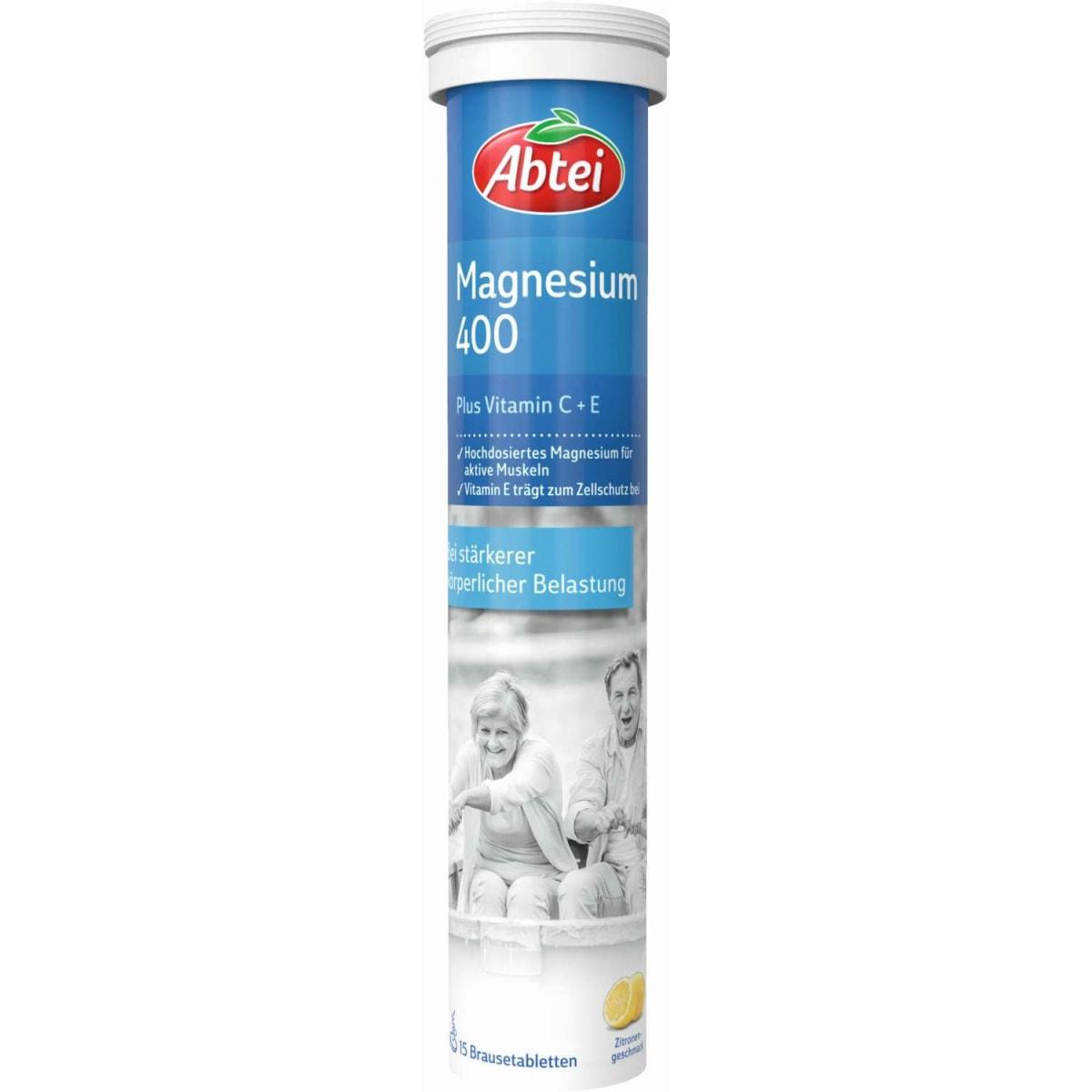 Abtei Magnesium 400 Plus Vitamin C+E