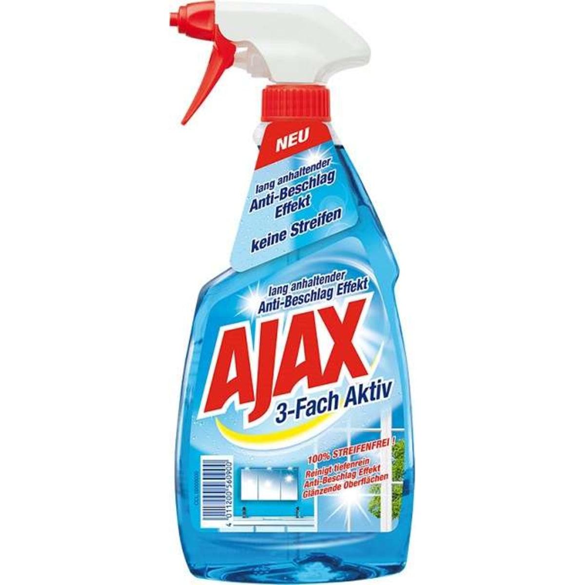 Ajax Glas 3fach Aktiv    Pumpe