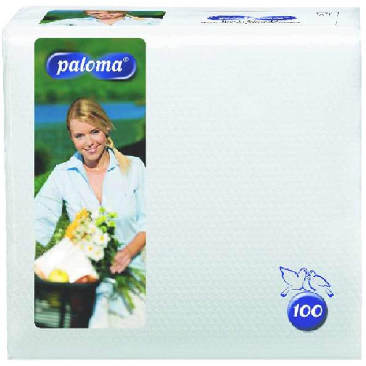Paloma Servietten weiss  1l 30cm