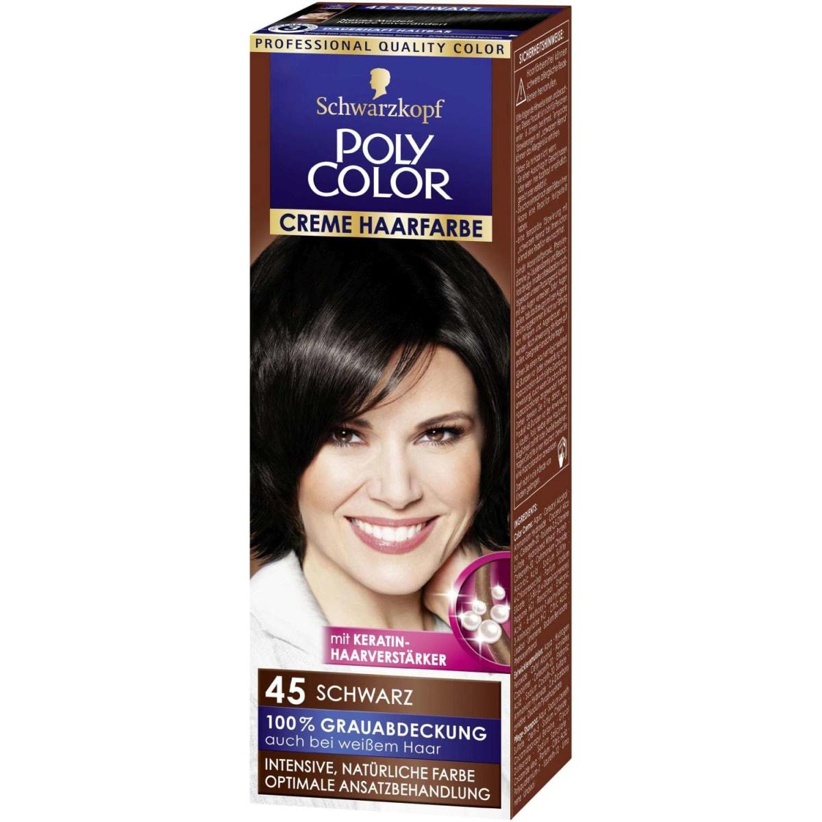 Poly Color Creme Schwarz