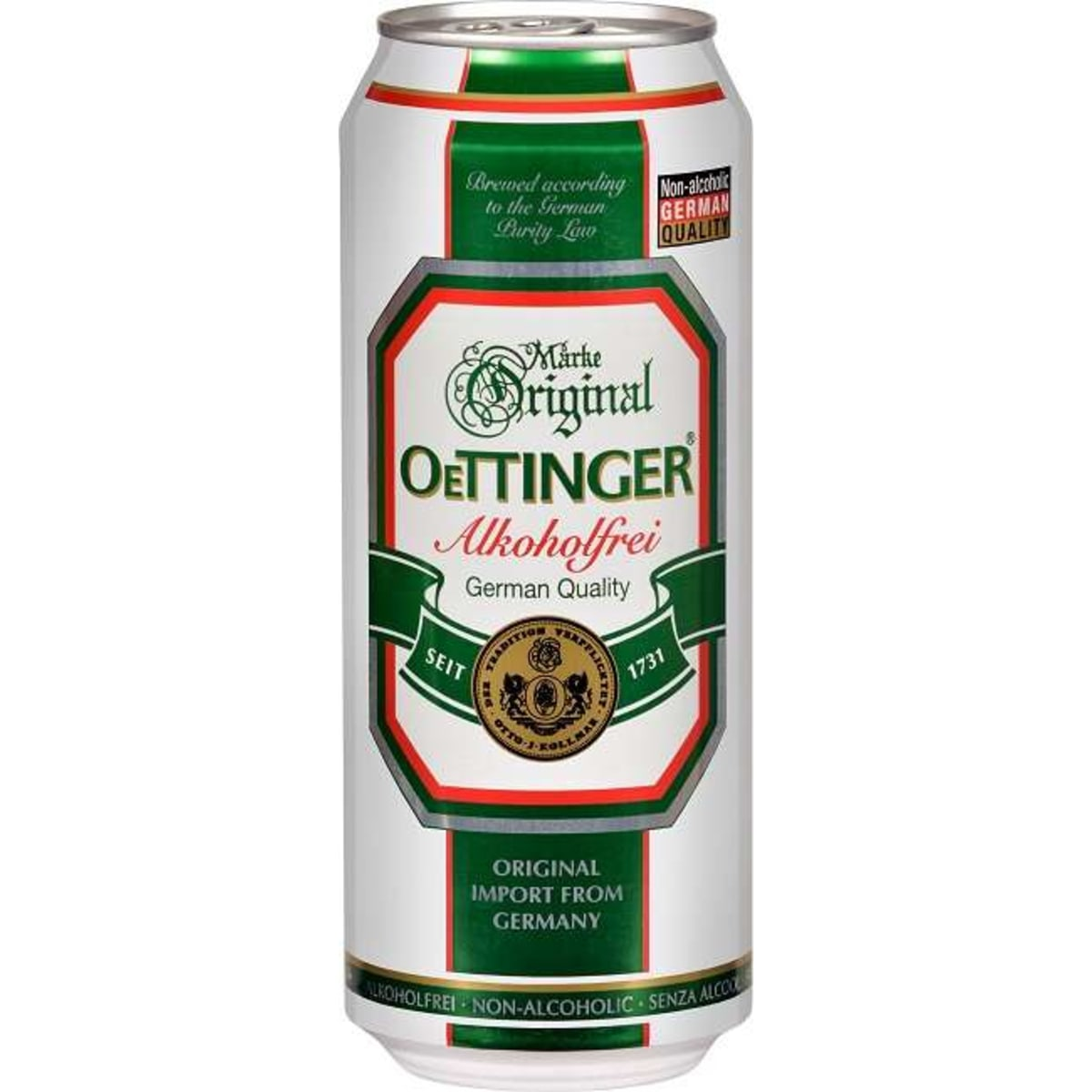 Original Oettinger alkoholfrei Dose