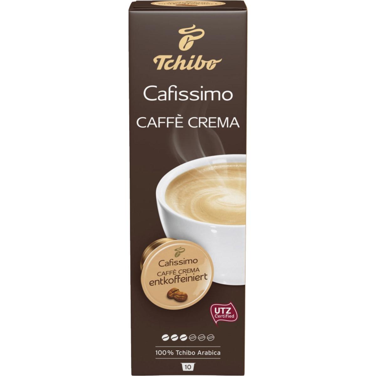 Tchibo Cafissimo Crema entkoffeiniert